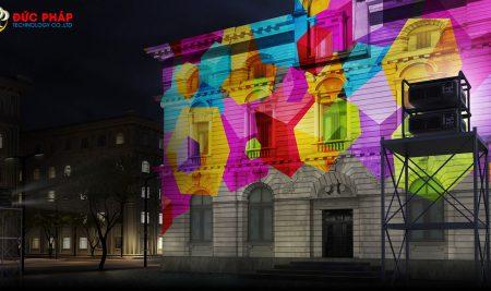 Máy Chiếu 3D Mapping – Mở Rộng Tầm Mắt Với Công Nghệ Chiếu Hình Ảnh 3D Hiện Đại